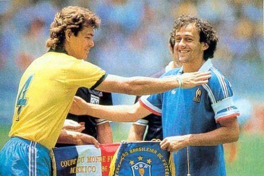 Platini estuvo presente en tres Mundiales.