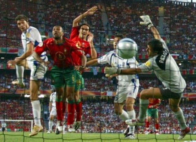 Grecia ganó la final a Portugal.