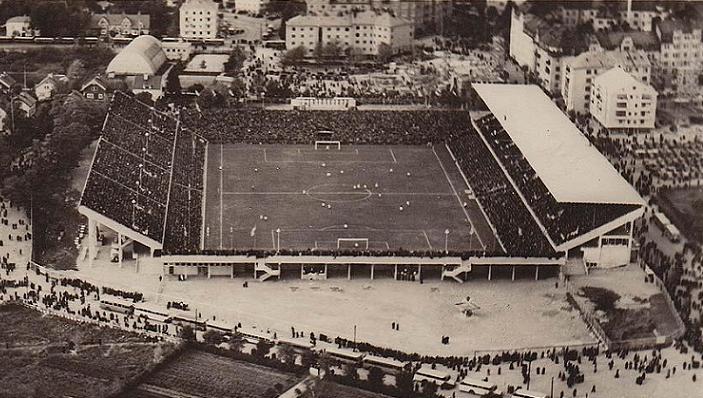 Rasunda, el estadio donde nació el mito Pelé.