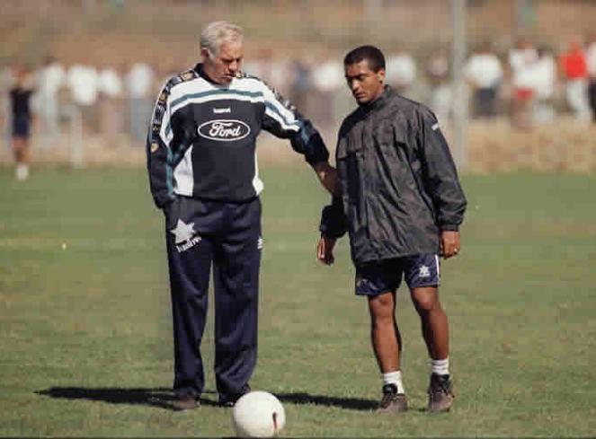 Romario had them stiff with Luis Aragones.