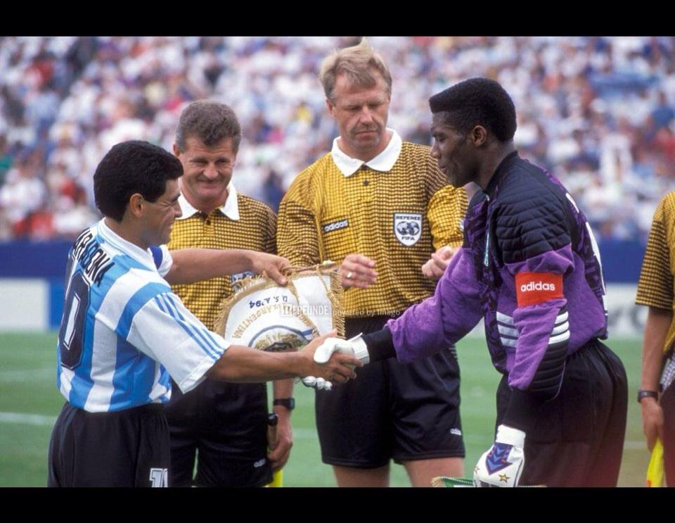 Peter Rufai, Prince goalkeeper