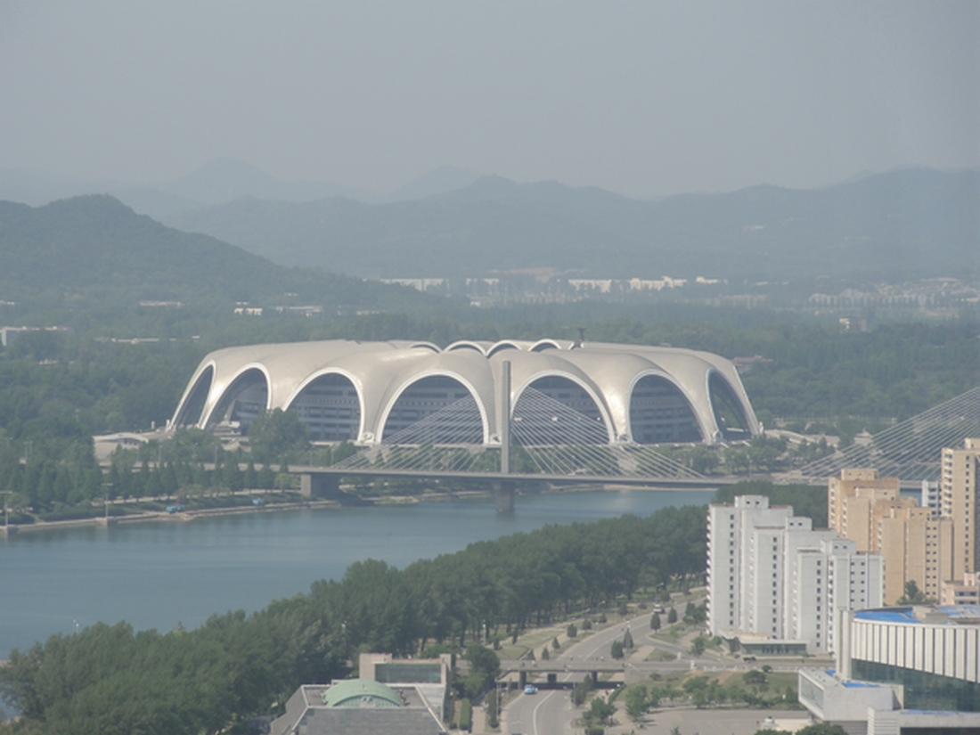 The world's largest stadium is in North Korea