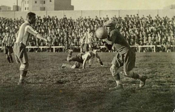 Zamora, der erste große Spieler in der Geschichte des spanischen Fußballs.