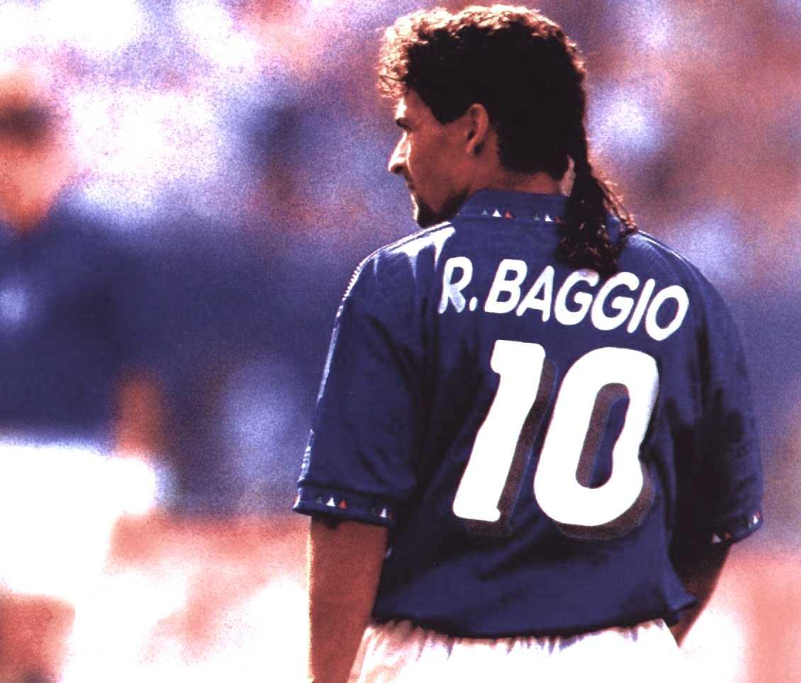 Roberto Baggio, siempre entre los mejores