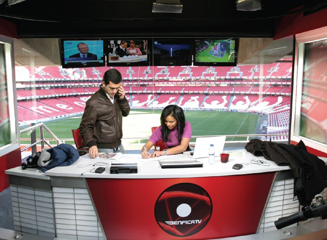 Benfica TV is a unique television model in football.