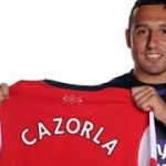 Santi Cazorla officially unveiled by Arsenal