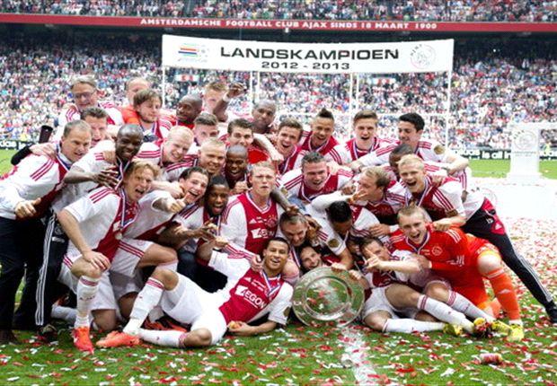 El Ajax ganó la última Eredivisie disputada.