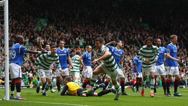 Scottish League in no dorsal.