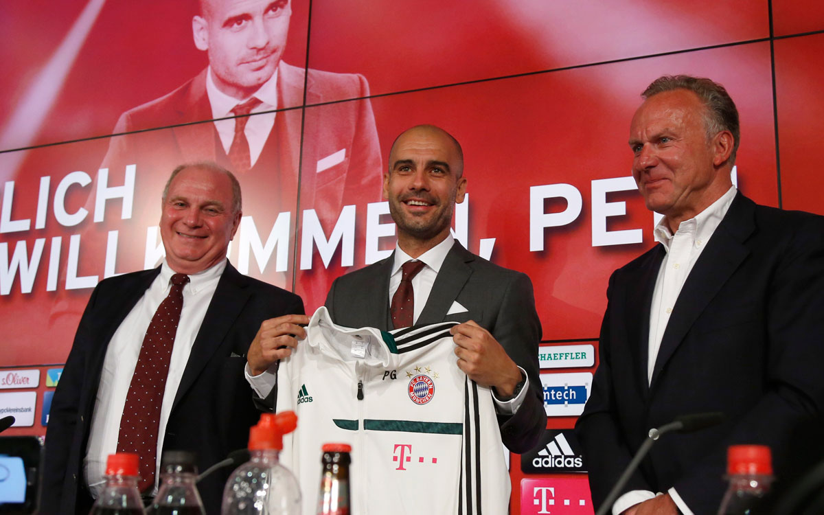 Guardiola is the signing of the year in Germany.
