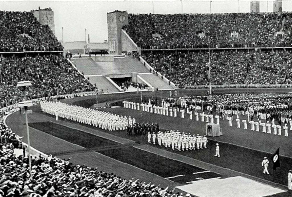 El estadio olímpico sirvió de escaparate al régimen nazi.