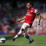 Santi Cazorla wins in his first month at Arsenal