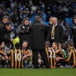 Hull City coach abroncó his players before their fans