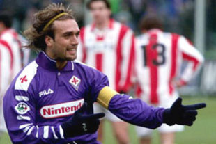 Batistuta busted in Florence.