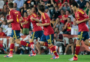 Spain beats Georgia with many difficulties with a goal from Soldado