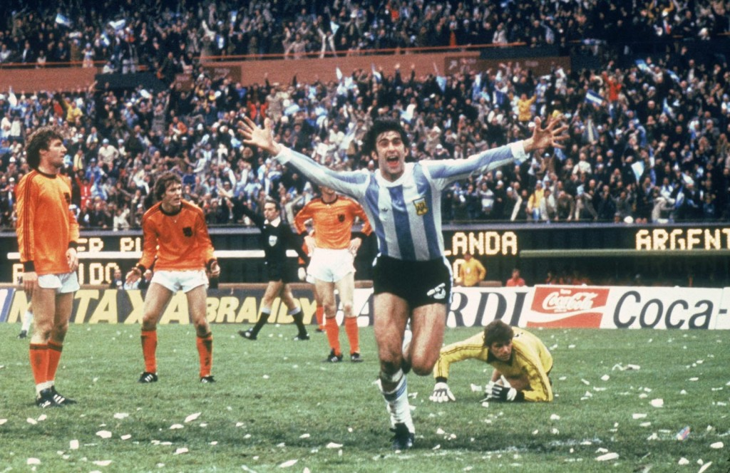 The Matador Kempes was the top scorer World 1978