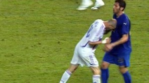 Zidane's header Materazzi has been the most famous in history