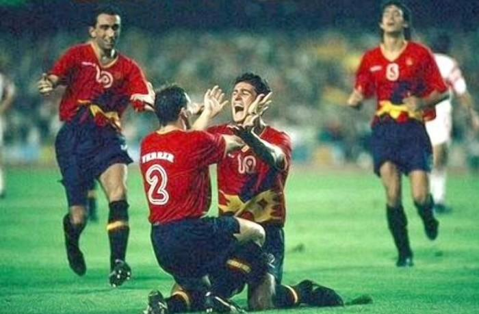 Spain won the Olympics 1992 Camp Nou in Barcelona.