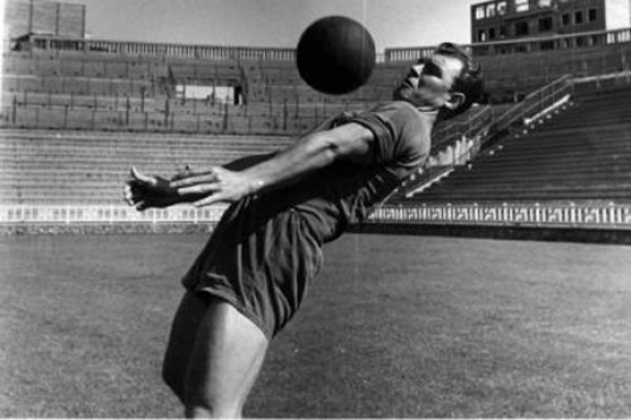 Kubala was a legend at the club and one of the best ever.