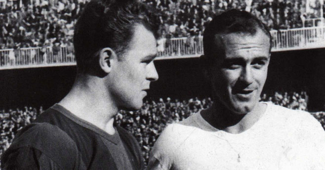 Kubala and Di Stefano, the first media history