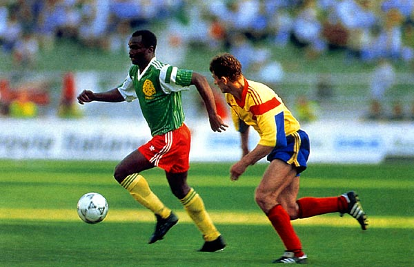 Roger Milla reached the summit when he least expected.