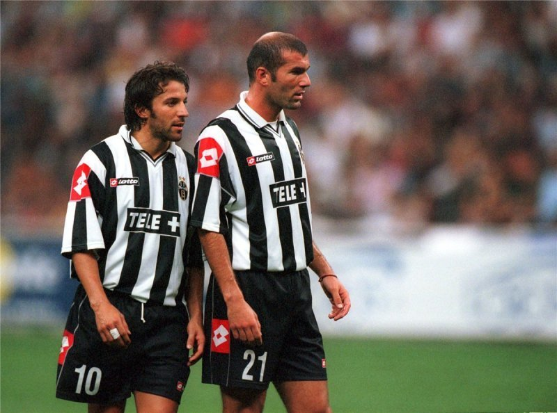 Zidane and Del Piero, Juve two stars