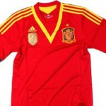 Confederations Cup 2013: Spain presents his new jersey
