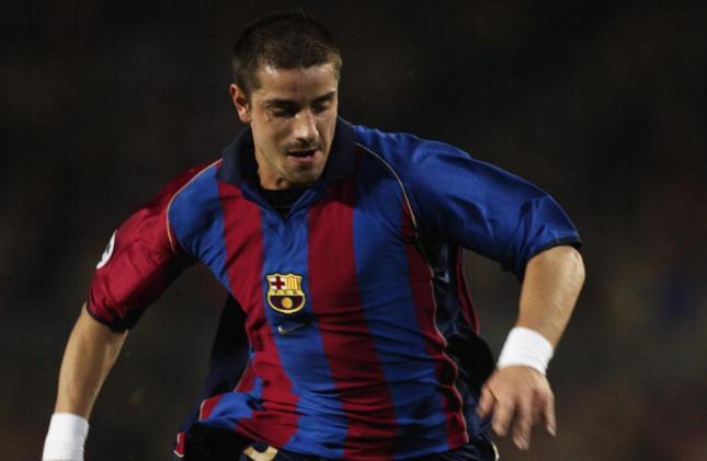 Coco con la camiseta del Barça.