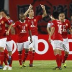 Guangzhou 4 – Guizhou Renhe 2: Guangzhou achieved the double in China
