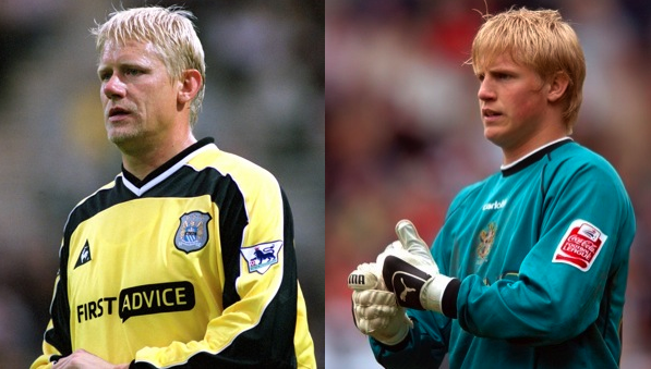 Kasper Schmeichel is also continuing the saga goalkeeper.