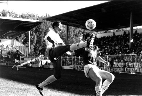 Rommel was one of those players who left their mark on the 90. Photo: Clubdeportivotenerife.es