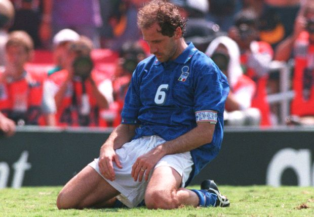 Baresi was left at the gates of the World USA 94.