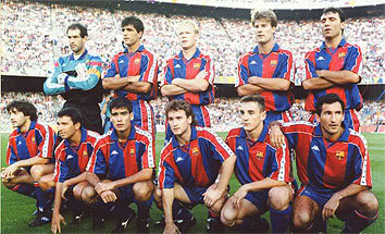 El Dream Team Cruyff. A team of legend