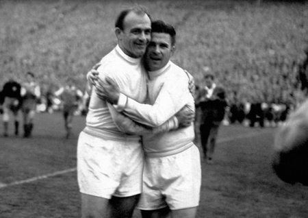 Puskas and Di Stefano had moments of great glory to Real Madrid.