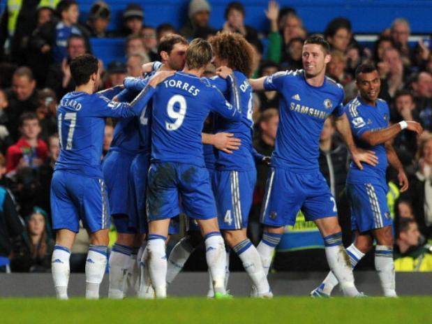 8 Chelsea-Aston Villa 0: Christmas for