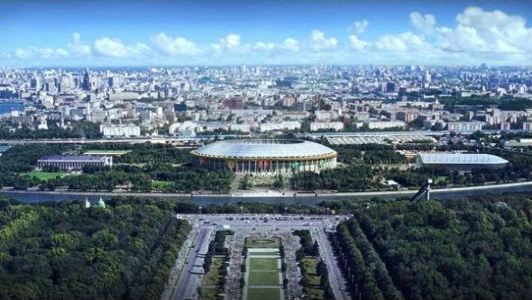 El estadio Luzhniki acogerá el partido inaugural y final de Rusia 2018.
