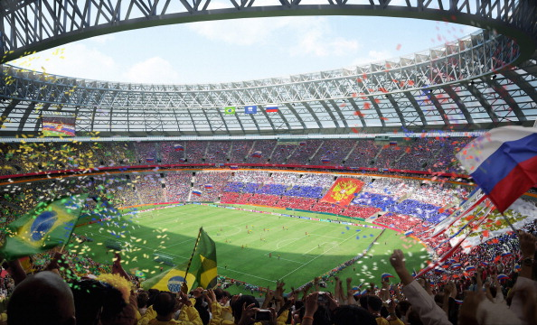 Con 80.000 personas y sin pista de atletismo. Así será el aspecto del estadio para el Mundial 2018.