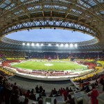 The Luzhniki Stadium, the house of the Russian football