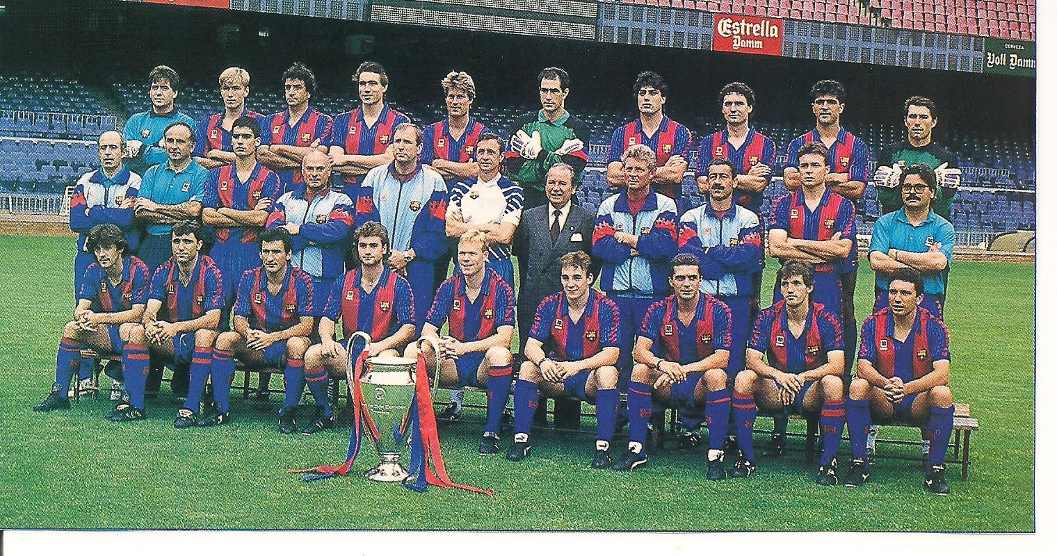 "die ""Traumteam ""Johan Cruyff"