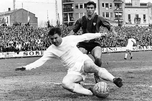 Pancho Puskas, un jugador de leyenda