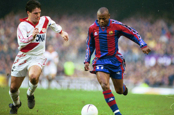 Emmanuel Amunike, one of the rarest signings in the history of Barca