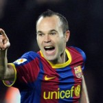 Andres Iniesta, best Playmaker of the Year