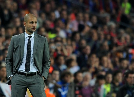 Pep Guardiola, new coach of Bayern Munich until 2016