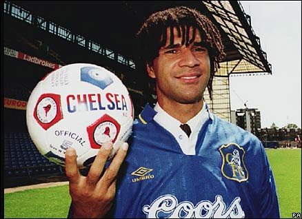 Gullit finished his career at Chelsea.
