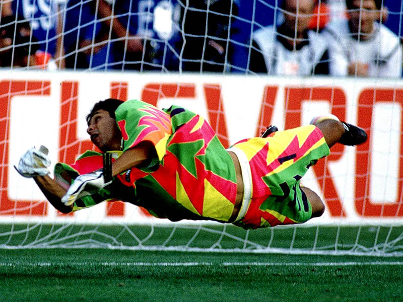 Jorge Campos The Most Spectacular Goalkeeper Striker History