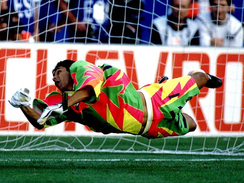 Jorge Campos: el portero goleador