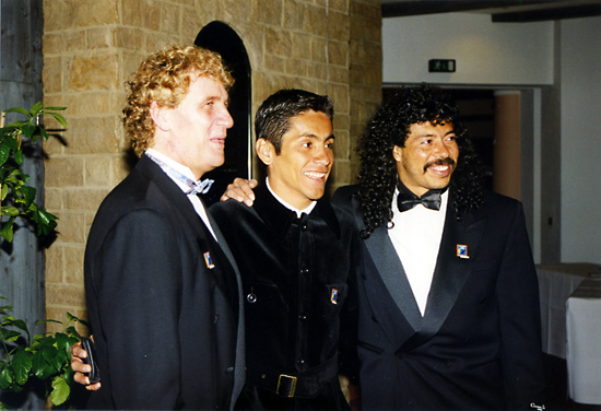 Jorge Campos and Rene Higuita, two of the most spectacular and eccentric goalkeepers have ever seen.