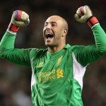 Reina could replace Victor Valdes in goal for FC Barcelona