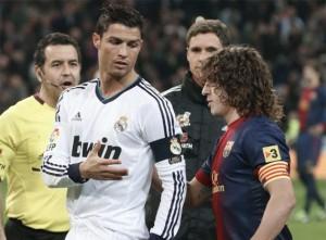 Real Madrid 1 Barcelona 1 Copa del Rey, Ronaldo y Puyol