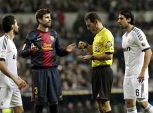 Real Madrid 1 Barcelona 1 cOPA del Rey,tarjeta a Pique