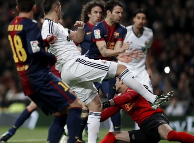Real Madrid 1 FC Barcelona 1 partido de vertigo